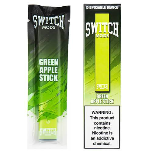 Switch Mods - Disposable Vape Device - Green Apple
