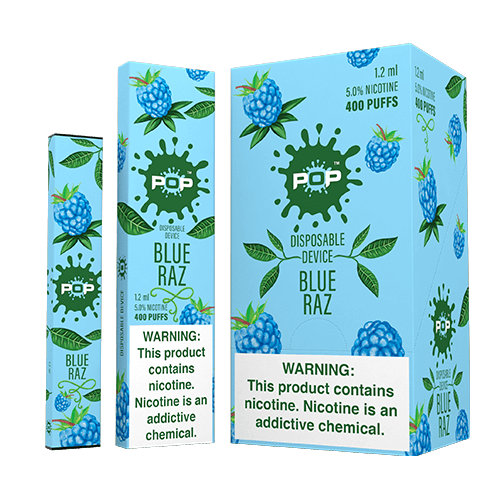 POP - Disposable Vape Pen - Blue Raz