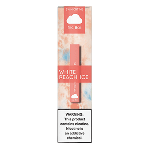 Nic Bar - Disposable Vape Device - White Peach Ice