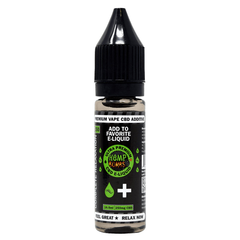 Hemp Bombs Higher Potency CBD E-Liquid Additives