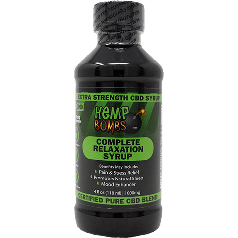 Hemp Bombs CBD Relaxtion Syrup