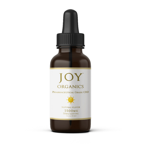 Image of Joy Organics CBD Oil Tinctures 1500 MG