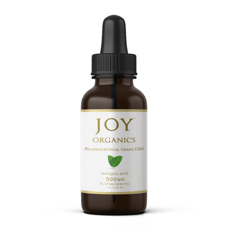 Joy Organics CBD Oil Tinctures 500MG