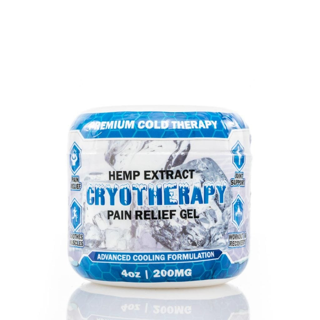 Nature's Script CBD Cyrotherapy Pain Relief Gel