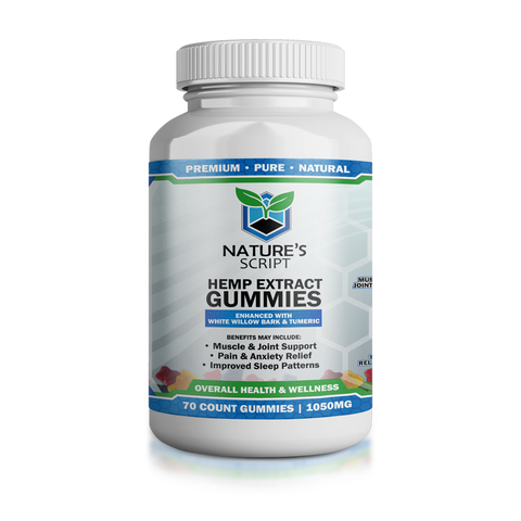 Image of Nature's Script CBD Gummies (3 Sizes) 15 MG
