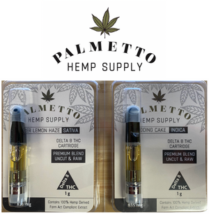 Palmetto D-8 Vape Cart
