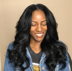 Traditional sew-in from hairstylist Schatzi C in Tampa, FL