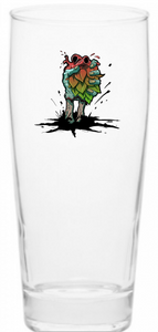 Hop Heart 16oz Willi glass - PRE ORDER!