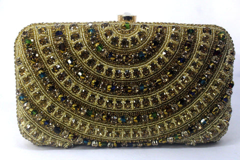 EthniCache Clutch Exquisite Beaded Hand Purse
