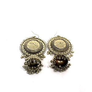 EthniCache Oxidized Jewelry Handcrafted Oxidized Enticing Earrings
