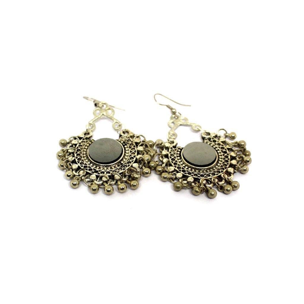 EthniCache Oxidized Jewelry Handcrafted Oxidized Exquisite Earrings