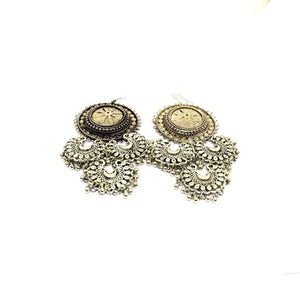 EthniCache Oxidized Jewelry Handcrafted Oxidized Fabulous Earrings