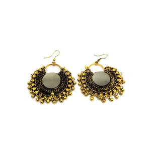 EthniCache Oxidized Jewelry Handcrafted Oxidized Superb Earrings