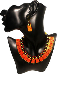 EthniCache Terracotta Jewelry Contemporary Tint Terracotta Set