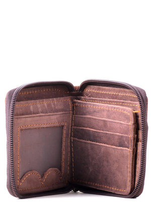 EthniCache Wallet Sassy Handmade Pure Leather Wallet