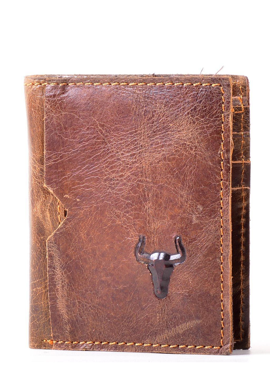 EthniCache Wallet Sophisticated Handmade Pure Leather Wallet