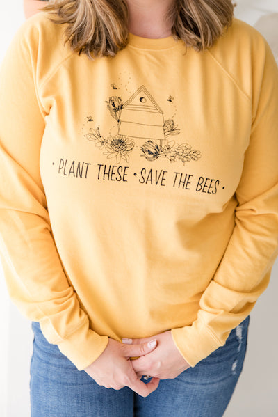 Plant These. Save The Bees.