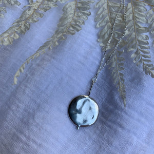 The 'Water' reversible double-sided necklace