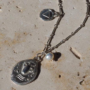 Symbols of Water necklace
