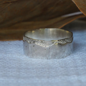 High Tide Textured Ring Band