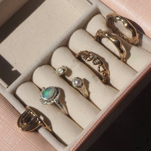 Sale! The Water stacking ring  ~ I
