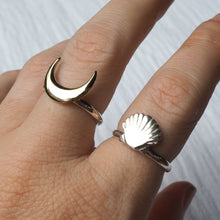 Seashell Stacking Ring