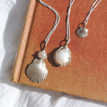 Ocean Deity Pearl & Shell Necklace