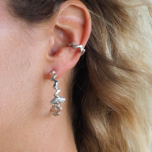Making Waves Ear Cuff