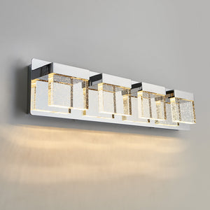 Bubble Cube 4-light LED Vanity Light