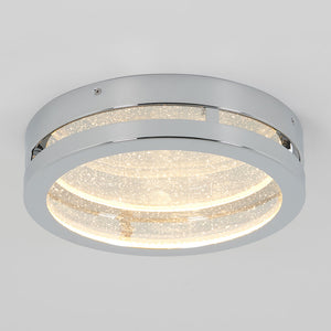 Champagne Round Integrated LED Ceiling Light