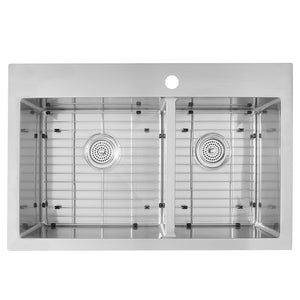 Laguna Bay Stainless-Steel Double Bowl Sink