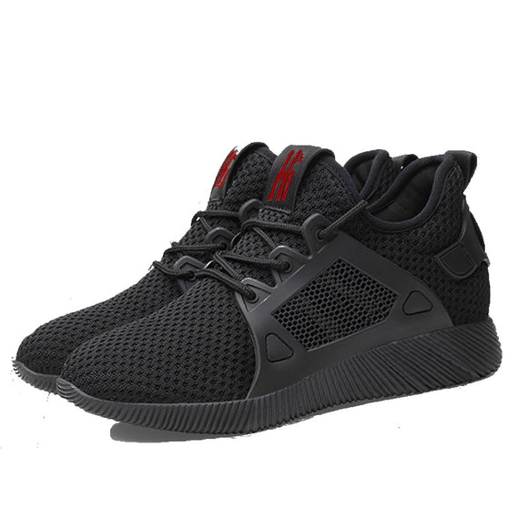 Stylish breathable sneakers, men's shoes