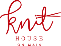 KnitHouse on Main logo and home