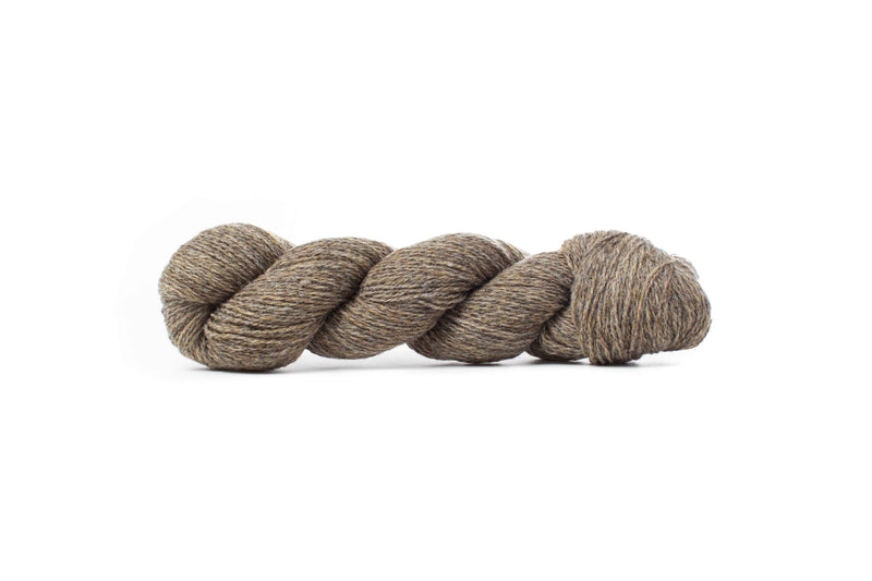 Biches & Bûches Le Petit Lambswool yarn grey brown