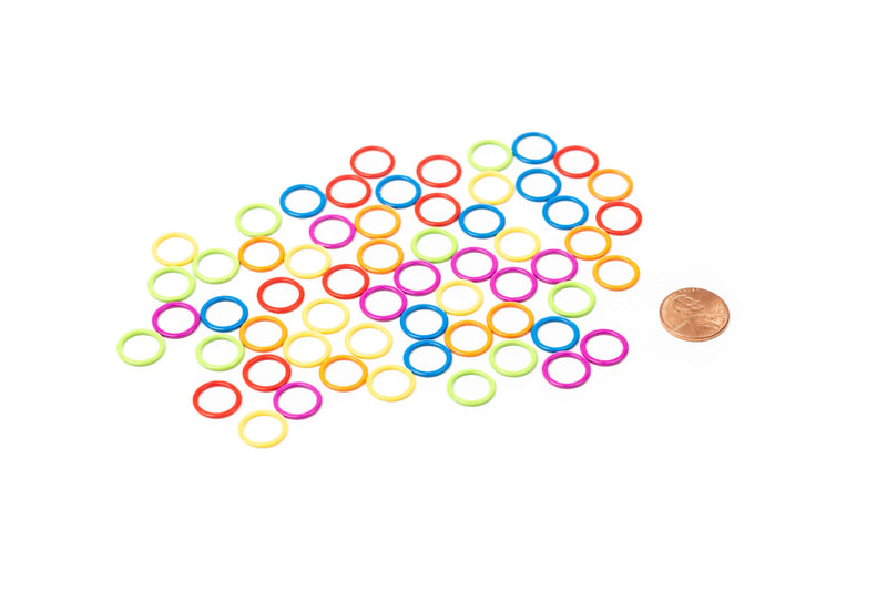 Cocoknits - Colored Ring Stitch Marker