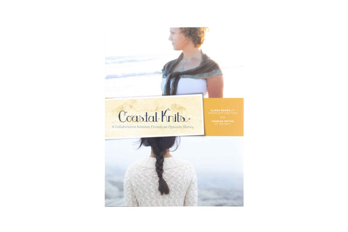 coastal knits book front cover