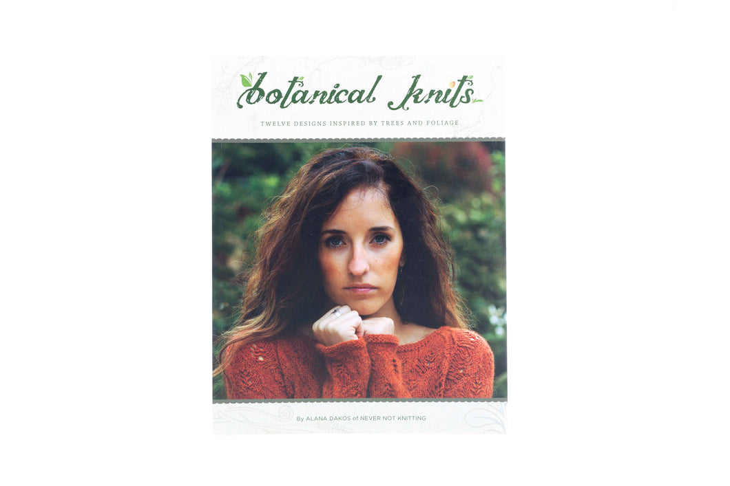 botanical knits book front cover