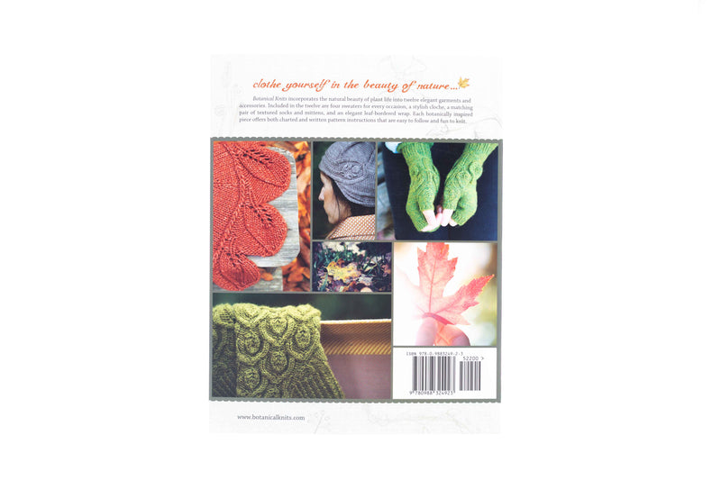 botanical knits book back cover