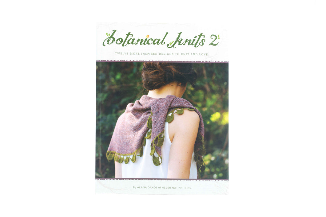 botanical knits 2 book front cover