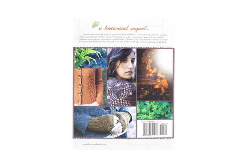 botanical knits 2 book back cover