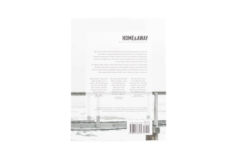 Home & Away book back cover