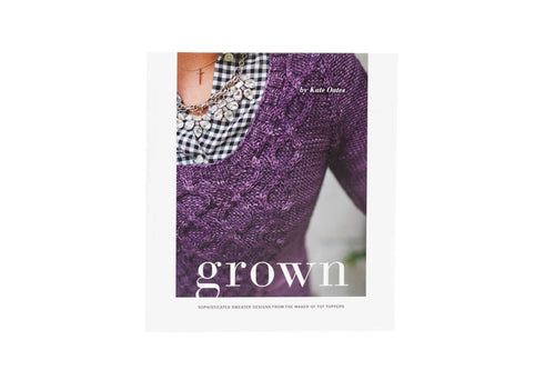 grown pattern book front cover