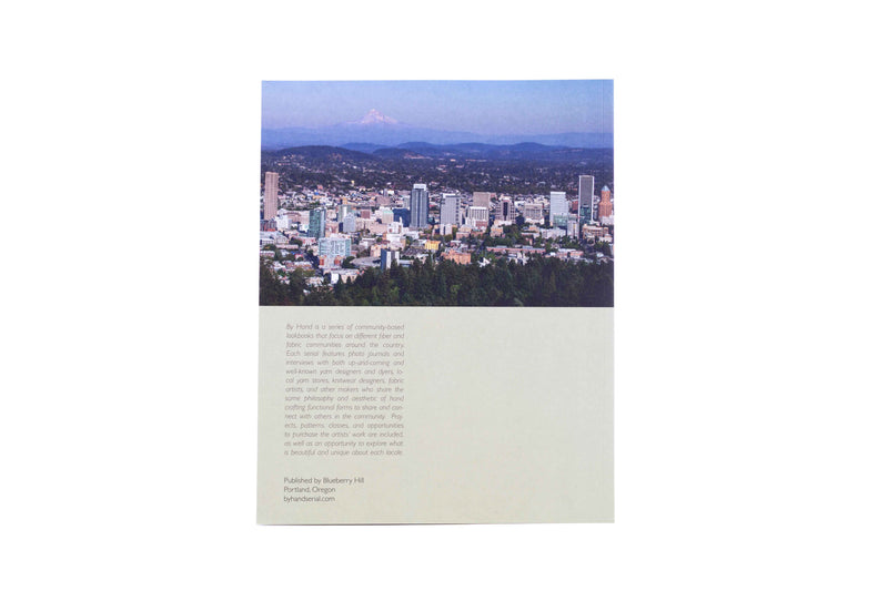 By Hand No. 1, Portland Oregon book back cover