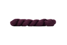 blue sky fibers alpaca silk yarn plum