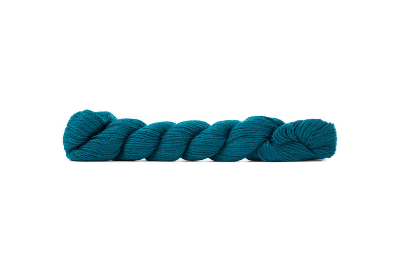 blue sky fibers alpaca silk yarn peacock