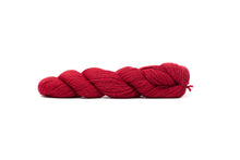 blue sky baby alpaca yarn red