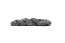 blue sky baby alpaca yarn natural medium gray
