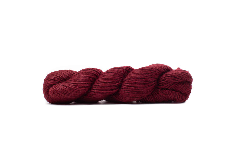 blue sky suri merino yarn crimson