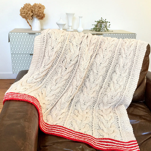 At Home Blanket Pattern