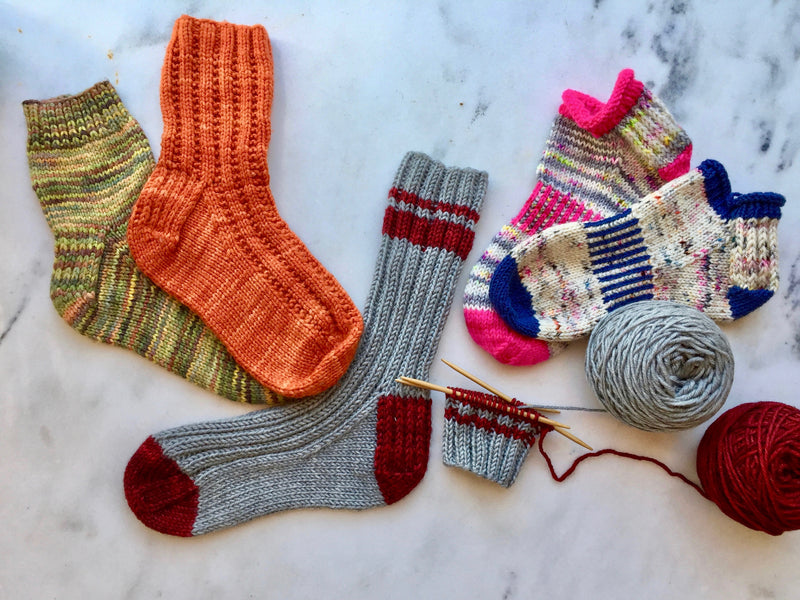 CLASS: Let's Start Knitting Socks!